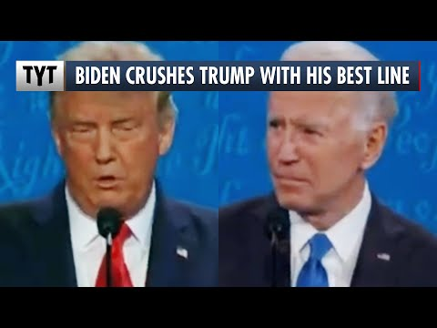 Joe Biden's BEST LINE in the Final Presidential Debate