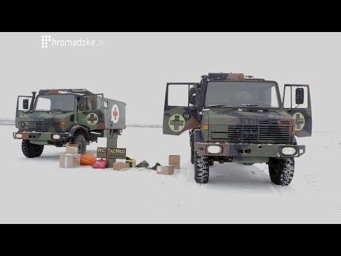 Два унікальні всюдихіда Mercedes-Benz Unimog передано українським спецпризначенцям