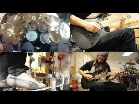Circle Of Contempt - Color Lines [Drum // Guitar Dual Cover]