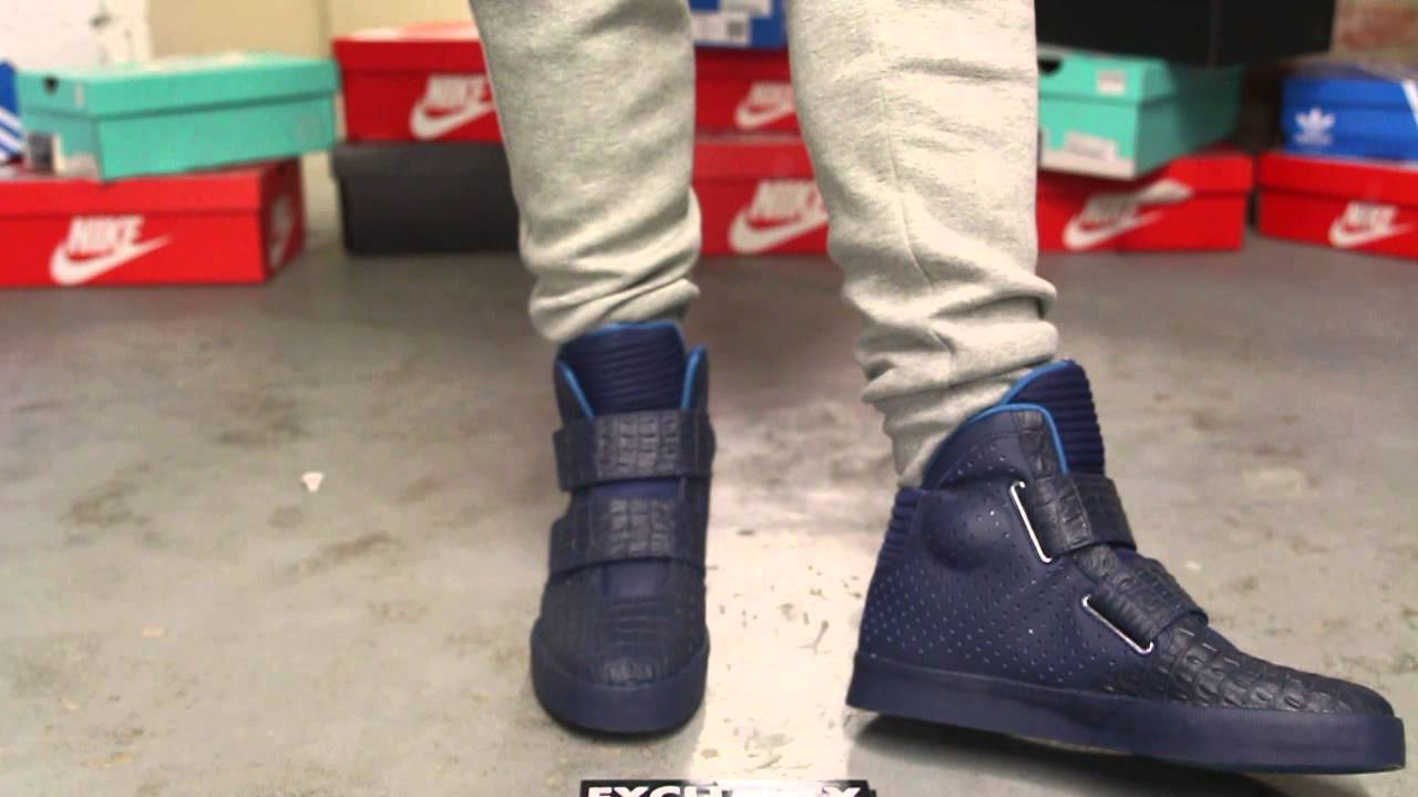 Nike Flystepper 2K3 Sneakers Midnight Navy Star Blue