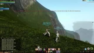 Climbing Mountains In ArcheAge Beta