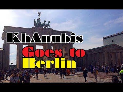 Germany Trip! Pt. 1 - KhAnubis in Berlin