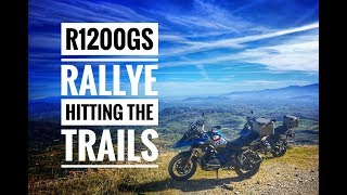 Spain by BMW R1200GS Rallye : Episode 4 - GS off road on the mountain trails