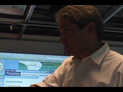 IMD Forum for 9/3/08: Mark Bolas