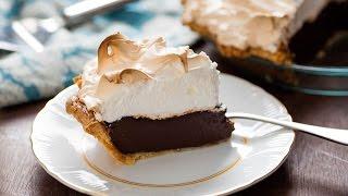 How to Make Double Chocolate Cream Pie