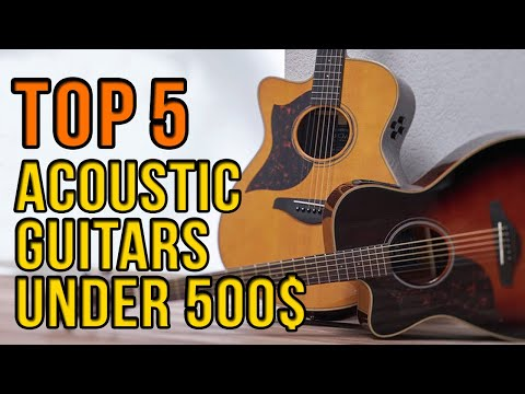 TOP 5: Acoustic Guitars Under $500 ▶️ ForTech 500