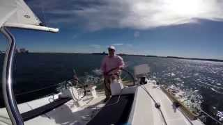 Sailing the Beneteau Oceanis 35 Alone