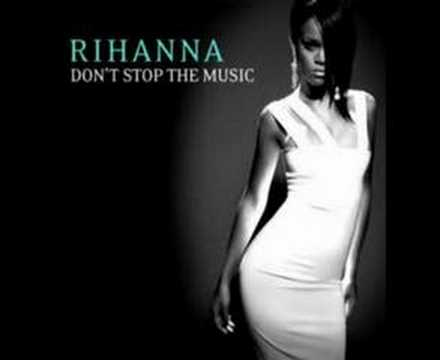 Don't Stop The Music (Instrumental) With Lyrics