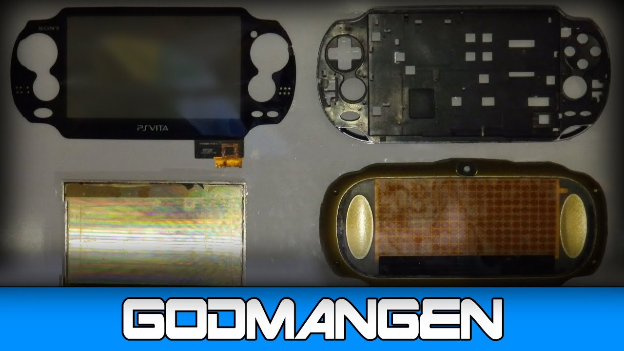 How to: PS Vita Screen & Digitizer Disassembly (Teardown Tutorial/Guide)