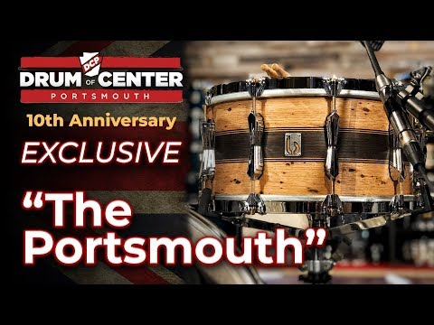 "British Drum Company ""The Portsmouth"" DCP 10th Anniversary Snare Drum 14x7"