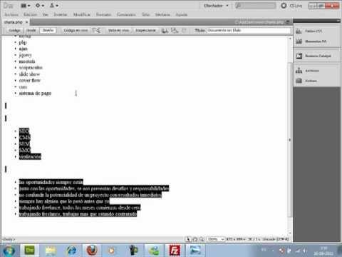 VideoTutorial 1 sobre el Mini Curso de Cómo ser Web Master y no Morir en el Intento
