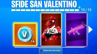 Fortnite REGALA V-BUCKS GRATIS per SAN VALENTINO! - Fortnite News ITA