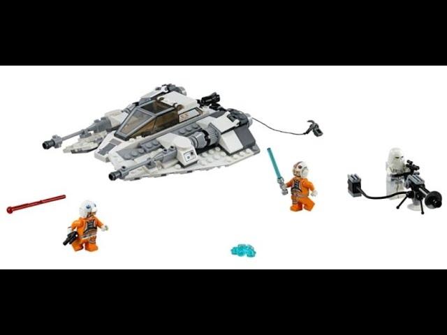 Folge 10 - Lego Star Wars Snowspeeder 75049