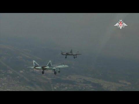 روسيا تضيف طائرة سو -57 إلى قواتها في سوريا.. فيديو  - نشر قبل 2 ساعة