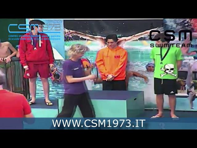 SwimTeam - Premiazione Nicolo' Mattavelli
