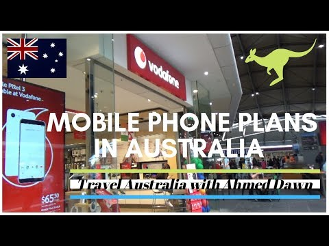 Mobile Phone Plans in Australia   How Expensive Is Melbourne   Australia Travel Vlog   26N11D18