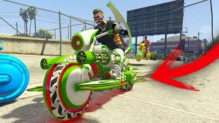 INCREIBLE CARRERA CON MOTO CHETADA! - GTA V ONLINE - GTA 5 ONLINE