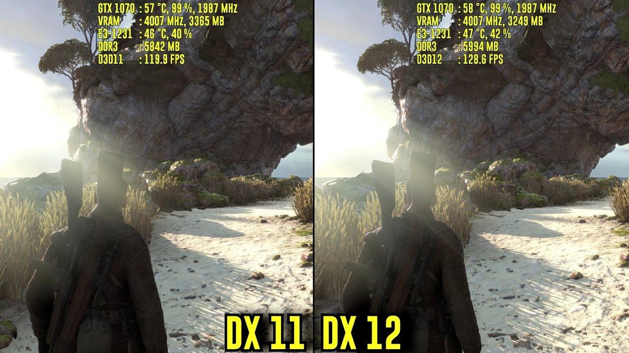 Sniper Elite 4: DirectX 11 vs DirectX 12