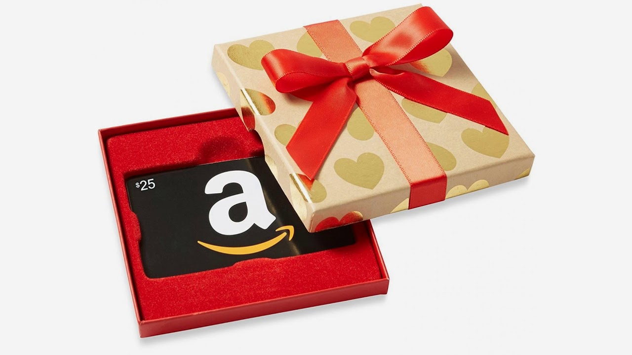 Amazon Gift Card in Gold Hearts Box [NEW ARRIVALS]