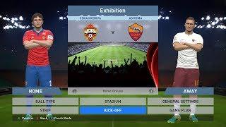 CSKA Moskva vs AS Roma, VEB Arena, PES 2016, PRO EVOLUTION SOCCER 2016, Konami, PC GAMEPLAY, PCGAME