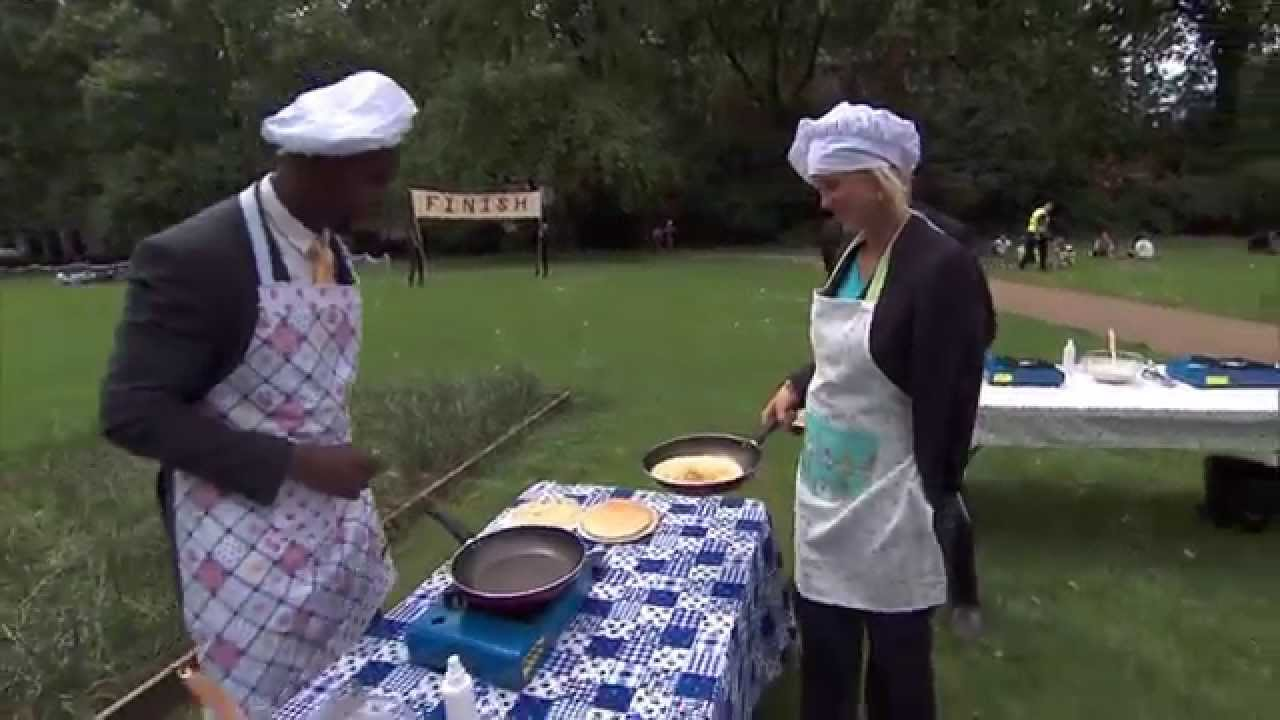 Download The Amazing Race: #SoulSurfers Bethany and Adam in Pancake Challenge