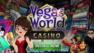 Vegas World Casino - Millions of players, BIG WINS!