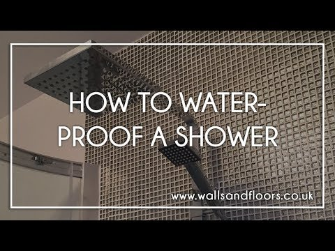 How To Board A Bathroom Or Wetroom Doovi