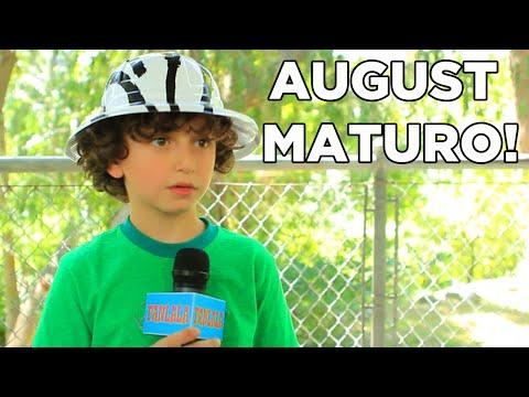 Disney Star August Maturo's Safari Birthday Party!