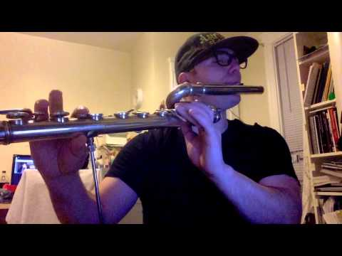 Set Fire To The Rain  Bass Flute