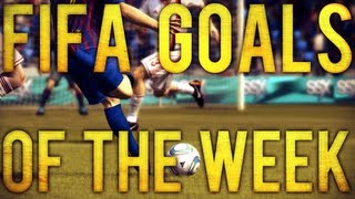 FIFA 12 : Top 5 Goals Of The Week ft HESKEY SCORPION KICK! #13