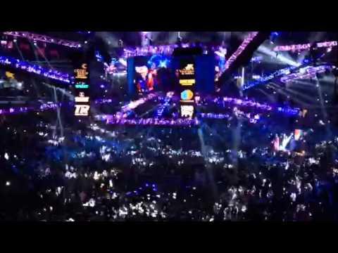 Pacquiao's Intro at Cotai Arena