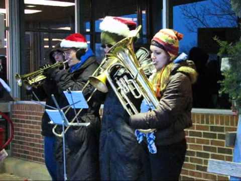 Salvation Army Christmas Carols 1, Johnson-Monaghen Brass, Christmas Eve 2010