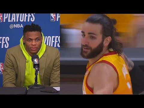 """Russell Westbrook Warns Ricky Rubio After Loss To Jazz """"I'm Going To Shut Him Down Next Game"""""""