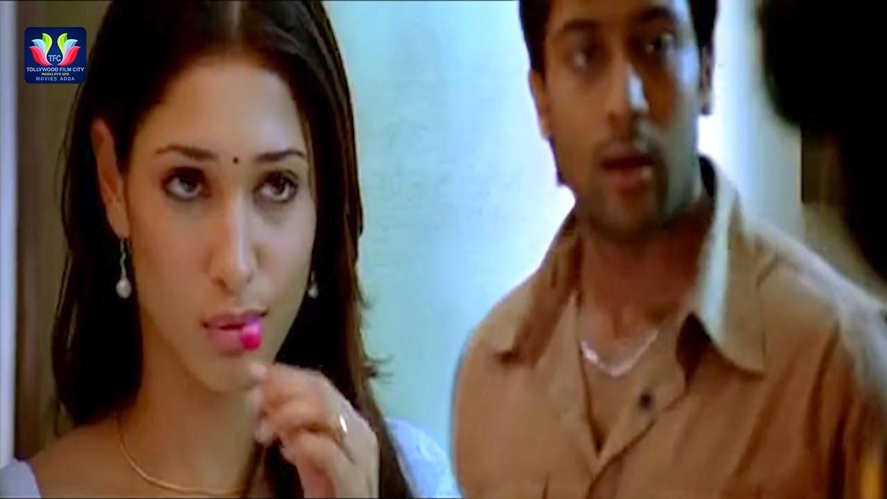 Download Suriya And Tamannaah Kiss Scene Veedokkade Movie || Latest Telugu Movie Scenes || TFC Movies Adda