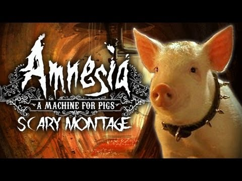 Amnesia: A Machine For Pigs Scary Moments Montage