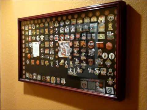 Sf Giants Baseball Pin Display Case Youtube
