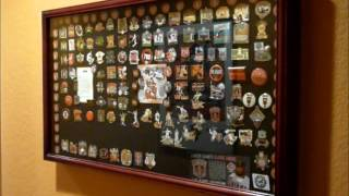 Sf Giants Baseball Pin Display Case