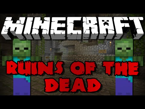 Minecraft: RUINS OF THE DEAD – Zombie Wave Survival Part 1!