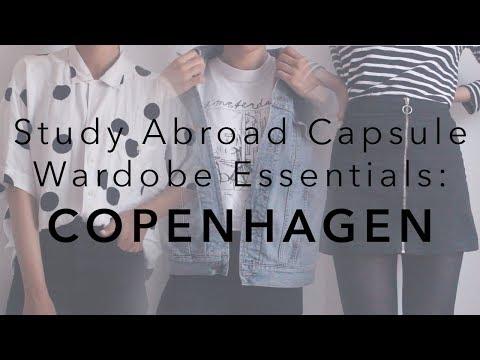Study Abroad Capsule Wardrobe Essentials | Copenhagen