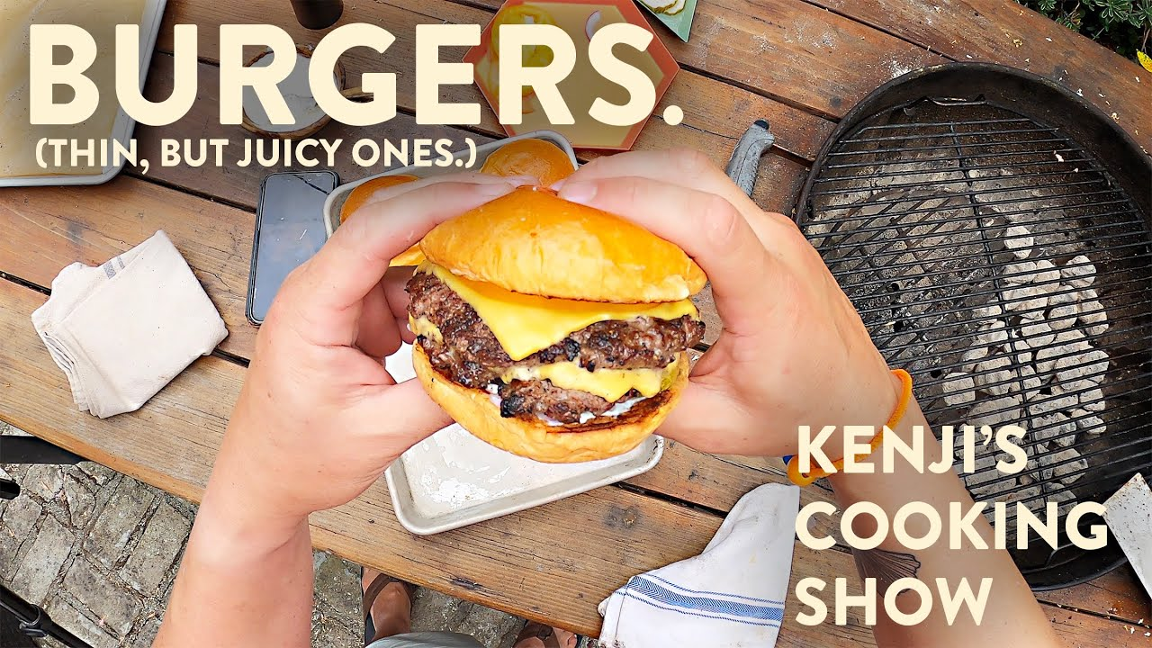 Download How to Grill Burgers (That are Big on Flavor, Not in Volume) | Kenji's Cooking Show