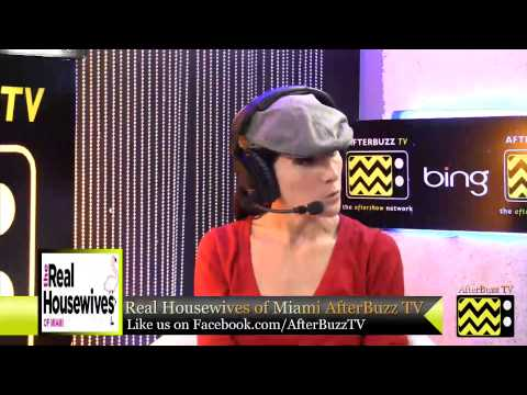 """Real Housewives of Miami After Show  Season 2 Episode 6 """"Sexting Candles""""   AfterBuzz TV"""