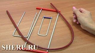 Для начинающих вязание на вилке. Урок 1