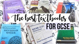THE BEST GCSE TEXTBOOKS & REVISION GUIDES (that actually work!)