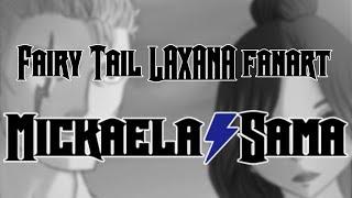 [SPEEDPAINT - Fanart] Fairy Tail : Laxana
