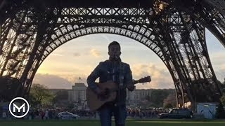 Fast Car - Tracy Chapman (cover by Youri Menna @Eiffel Tower Paris)