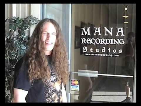 Hate Eternal - Behind the Scenes at Mana Studios