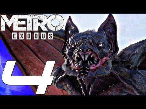 METRO EXODUS - Gameplay Walkthrough Part 4 - The Caspian (Full Game) PS4 PRO