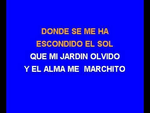 Karaoke Donde Estara Mi Primavera   Marco Antonio Solis