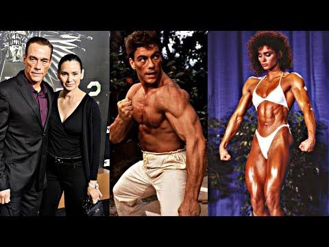 Jean Claude Van Damme's Wife was a Bodybuilding Champion
