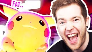 I Used FAT PIKACHU to WIN in Pokemon Sword!
